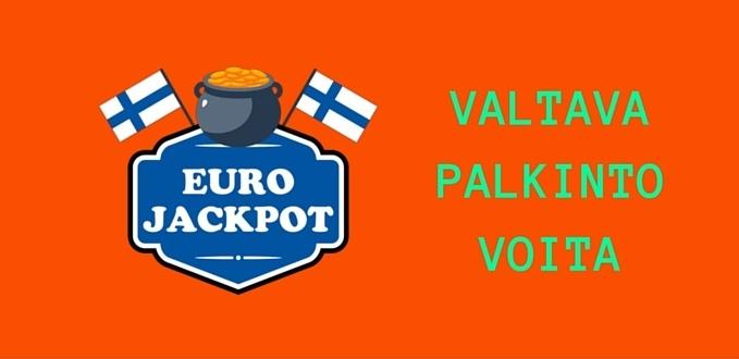 Suomi Pelaajan Kauhoissa Valtava EuroJackpot-palkinnon