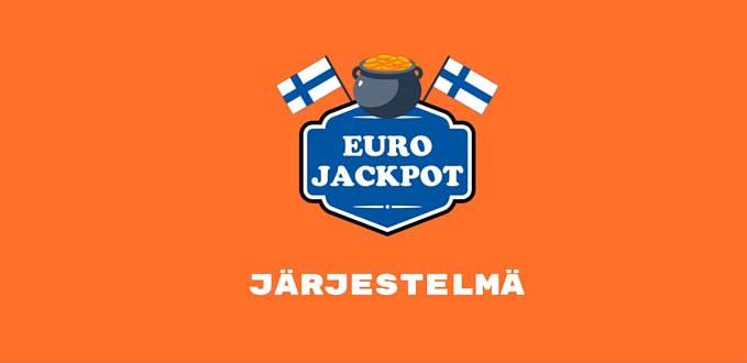 eurojackpot lotto järjestelmä