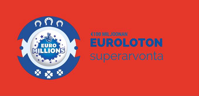 Euroloton €100 miljoonan superarvonta