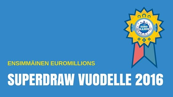 Euromillions Superdrawta