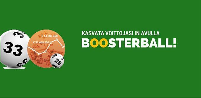 Kasvata voittojasi Boosterball in avulla!